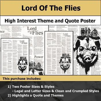 Literature Poster Bundle #3 - High Interest and Engaging Theme and Quote Posters