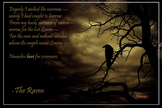 Literary Poster - The Raven