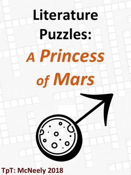 Literature Puzzles: A Princess of Mars