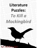 Literature Puzzles: To Kill a Mockingbird