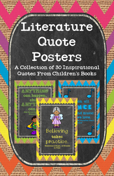 Literature Quote Posters
