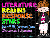 Literature Reading Response Stars   Guided Reading Questio