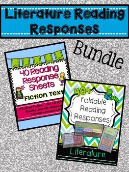 Literature Reading Responses BUNDLE!