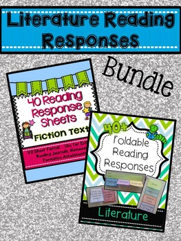 Literature Reading Responses BUNDLE!