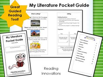 Guided Reading Tool:  My Literature Pocket Guide for Primary Grades