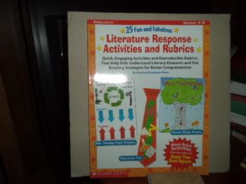 Literature Response Activities and Rubrics ISBN#0-439-28235-7