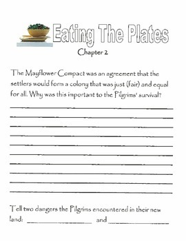 Literature Response Activities for Eating The Plates