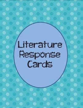 Literature Response Cards