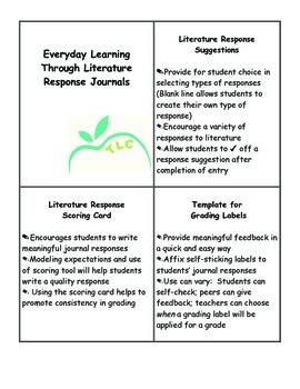 Literature Response Journals