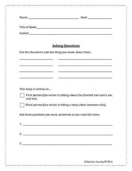 Literature Response Packet