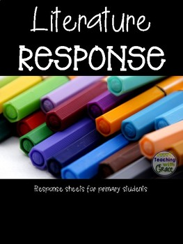 Literature Response: Response Sheets for Primary Students