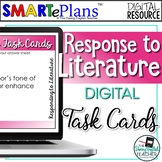 Analyzing Literature Task Cards for Any Novel - Remote Learning