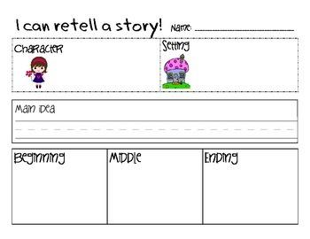 Literature Retell & Story Elements