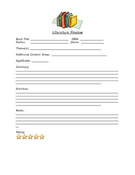 Literature Review Record Keeper