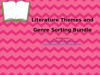 Literature Sort Bundle