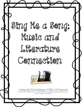 Literature Soundtrack Activity: Music and Literature Connections