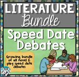 Literature Speed Date Debate Bundle