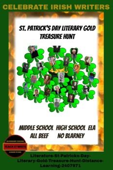 Literature: St. Patrick's Day Treasure Hunt-Reading for Literary Gold