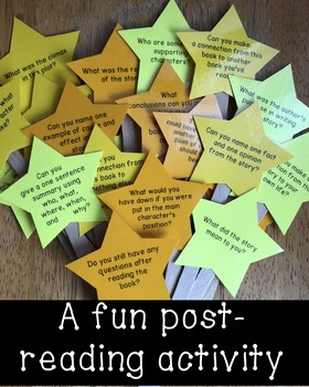Literature Star Sticks