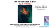 Literature Study(10) An Inspector Calls Act 2 Pt 3 'Mrs. Birling' 'End of Act 2'