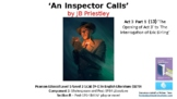 Literature Study (13) An Inspector Calls Act 3 Pt 1 'Opening' - 'Eric's Crime'