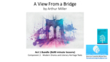 Literature Study: 'A View from a Bridge' – Act 1 Bundle (8x90 minute lessons)