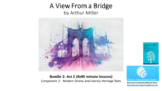 Literature Study: 'A View from a Bridge' – Act 2 Bundle (7x90 minute lessons)