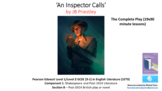 Literature Study 'An Inspector Calls' The Complete Bundle