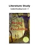 Literature Study: Bridge to Terabithia