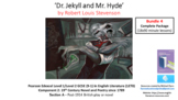 Literature Study: Dr. Jekyll & Mr. Hyde Bundle 4 – Complet