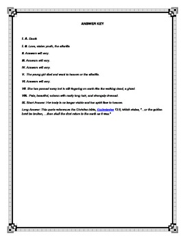 Middle School Poetry Study: 3 Edgar Allan Poe Poems (CCSS aligned)