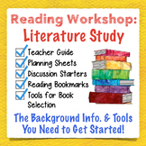 Literature Study Guide: Planning Guides & Student Tools to Foster Independence