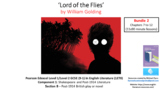 Literature Study: 'Lord of the Flies' Bundle 2: Chapters 7