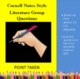 Literature Study Notes- Cornell Style