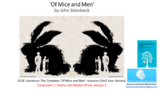 Literature Study: Of Mice and Men – The Complete Study Bun