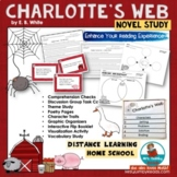Charlotte's Web | Book Companion and Novel Study | Distance Learning