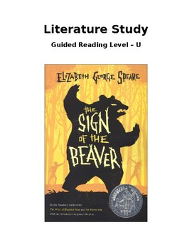 Literature Study: The Sign of the Beaver