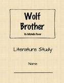 Literature Study: Wolf Brother Digital Access (Assignable Google Slides)