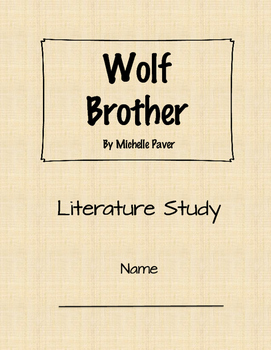 Literature Study: Wolf Brother Digital Access (Assignable