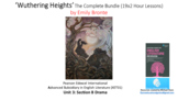 Literature Study: 'Wuthering Heights' – Complete Bundle (1