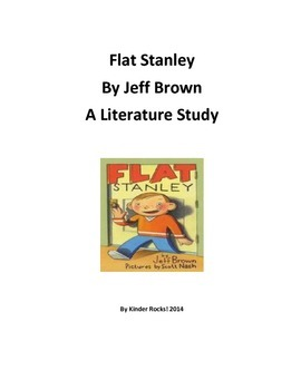 Literature Study for Flat Stanley by Jeff Brown