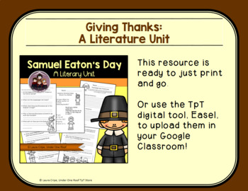 Samuel Eaton's Day: A Literature Study