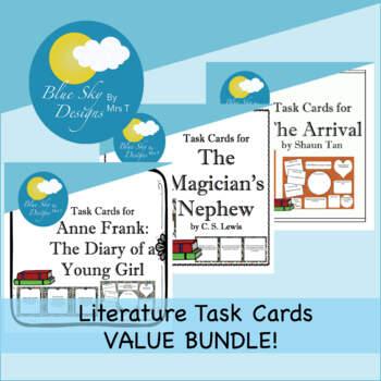Literature Task Cards MINI-BUNDLE!