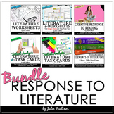 Teaching Literature BUNDLE: Book Clubs, Novel Units, or Literature Circles