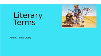Literature Terms PPT