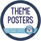 Literature Theme Posters - 15 Common Themes in Literature