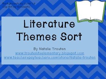 Literature Theme Sort
