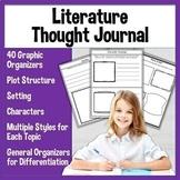 Fiction or Literature Graphic Organizers