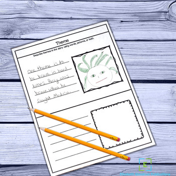 Fiction or Literature Graphic Organizers