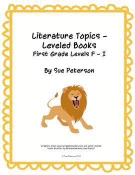 Literature Topics - Leveled Books: First Grade Levels F - I